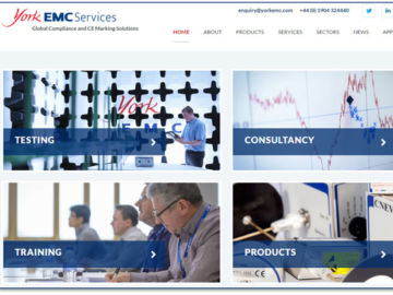 York EMC Services Announces New Website