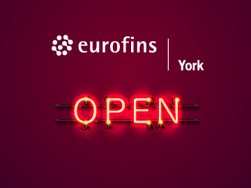 Your testing options with Eurofins York & Eurofins E&E UK