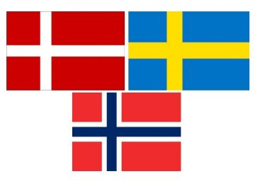 Denmark, Norway, Sweden