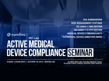 Medical Device Compliance Seminar from Eurofins MET Labs