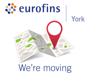 New address for Eurofins York Head Office from 9th May 2019