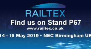 See us at Railtex 2019