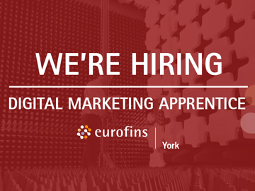 We're Hiring - Digital Marketing Apprentice
