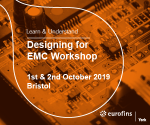 Training | EMC Design 1st & 2nd October 2019 | Bristol