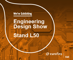 Meet Eurofins E&E at the Engineering Design Show 2019